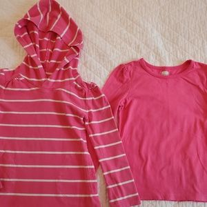 Two Long Sleeved Tees (size 4T)